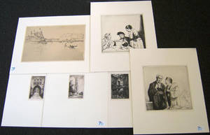 Six engravings to include 2 by Ray Weiss