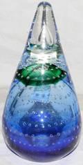 080311 ADAM JABLONSKI GLASS PAPERWEIGHT H 7