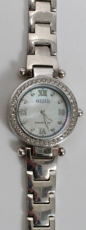 070365 ECCLISSI WRIST WATCH SWISS MOVEMENT L 6 12