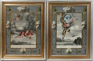 062271 PRINTS NARCISSUS AND THE FALL OF ICARUS