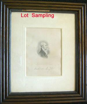 Twelve Albert Rosenthal signed engravings