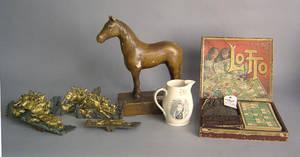 Composition horse figure