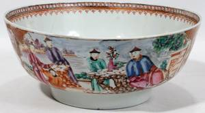 072352 CHINESE EXPORT PORCELAIN BOWL 19TH C