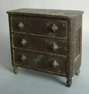 Pennsylvania miniature chest of drawers