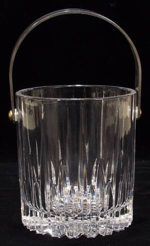 071359 CRYSTAL ICE BUCKET H 6 DIA 5 12