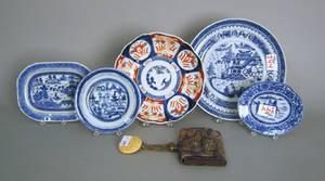 Five pcs export porcelain