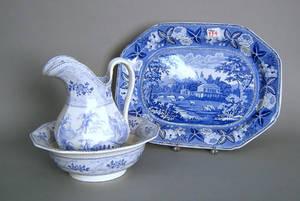 Staffordshire platter