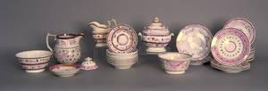 Luster porcelain