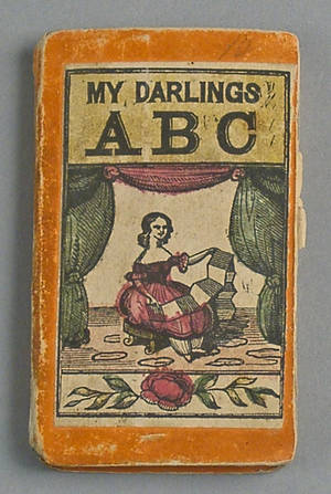 My Darlings ABC printed and hand colored book
