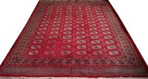 100295 BOKHARA WOOL PERSIAN RUG MID 20 TH C 8 X 10
