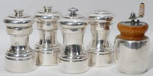 091450 TIFFANY  CO FISHER STERLING GRINDERS FIVE