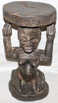100417 DECORATIVE STOOL IN FORM OF WOMAN W 9