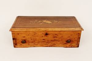Swiss Wood Cased Music Box