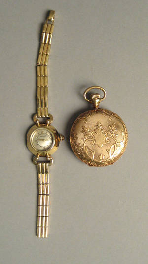 14K gold Movado watch