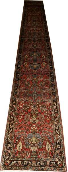 011143 SEMI ANTIQUE PERSIAN RUNNER 230x28