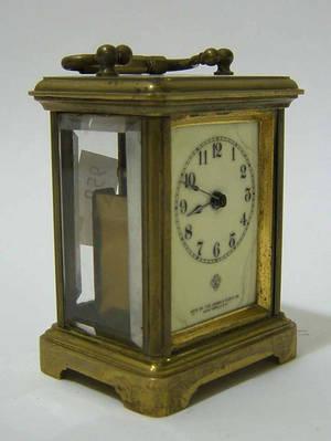 Ansonia carriage clock
