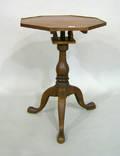 Queen Anne walnut tea table