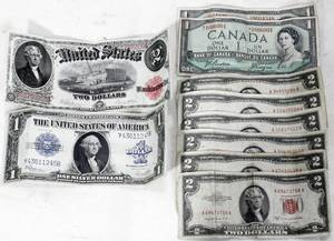 010232 US PAPER CURRENCY 1 2 NOTES 1917 23  53
