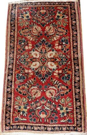 112250 SAROUK ORIENTAL PERSIAN CARPET 33x17