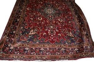 112245 HAMADAN PERSIAN WOOL ORIENTAL RUG 132x97