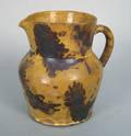 Pennsylvania redware pitcher