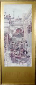 110365 SIR LAWRENCE ALMATADEMA PRINT WEDDING