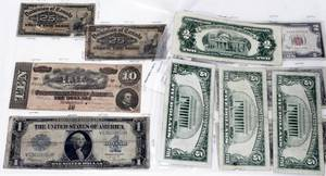 030363 US PAPER CURRENCY US NOTES CONFEDERATE 10