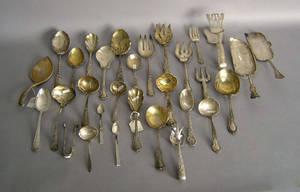 American sterling silver serving utensils