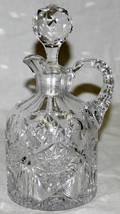 012482 BRILLIANT PERIOD CUT GLASS CRUET