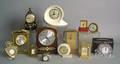 Thirteen desk clocks