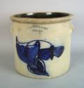 Three gallon stoneware crock 19th c