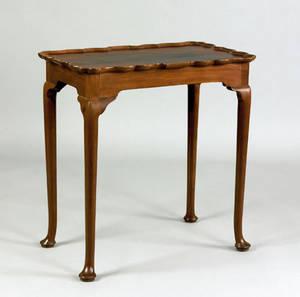 Queen Anne mahogany tea table ca 1765