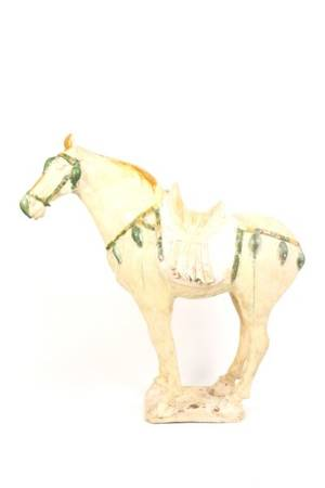 Large Chinese Tang Dynasty Style Horse Sculpture