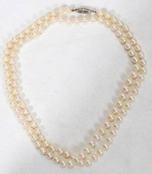 060196 6065MM PEARL NECKLACE L30