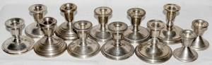 060279 AMERICAN STERLING SILVER CANDLESTICKS