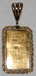 090306 CREDIT SWISS 9999 GOLD BAR C1930