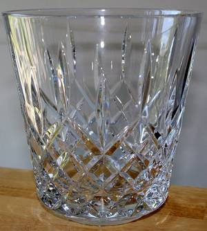 080322 WATERFORD LISMORE CRYSTAL ICE BUCKET H7