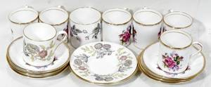 090428 PARAGON  ROYAL WORCESTER PORC DEMITASSE CUPS