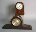 Two Seth Thomas mahogany shelf clocks