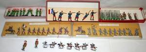 081594 LEAD METAL  COMPOSITION TOY SOLDIERS 58