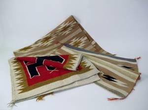 Three Southwestern Native American Rugs