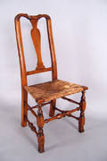 New England Queen Anne side chair ca 1740