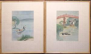 052536 CYRUS LEROY BALDRIDGE PRINTS JAPANESE SCENES