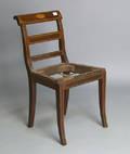 Hepplewhite inlaid side chair