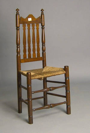 New England banisterback dining chair