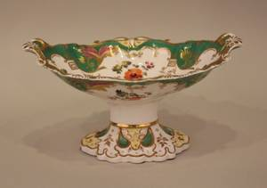 An Early 19th Century Ridgway Oval Compote