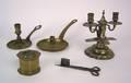 Dutch brass chamberstick early 18th c