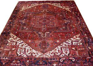 090065 HEREZ PERSIAN WOOL CARPET 10 2 X 13