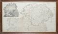 11147 ANTIQUE MAP KINGDOM OF IRELAND JOHN ROCQUE