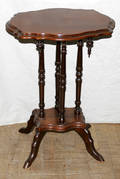 110160 VICTORIAN WALNUT OCCASIONAL TABLE